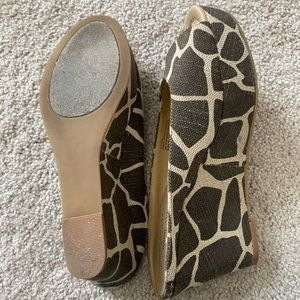 Nine West dayside giraffe sandal wedge